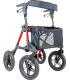 Deambulatore rollator schienale e seduta ergonomica ruote 240mm Mediland 854120